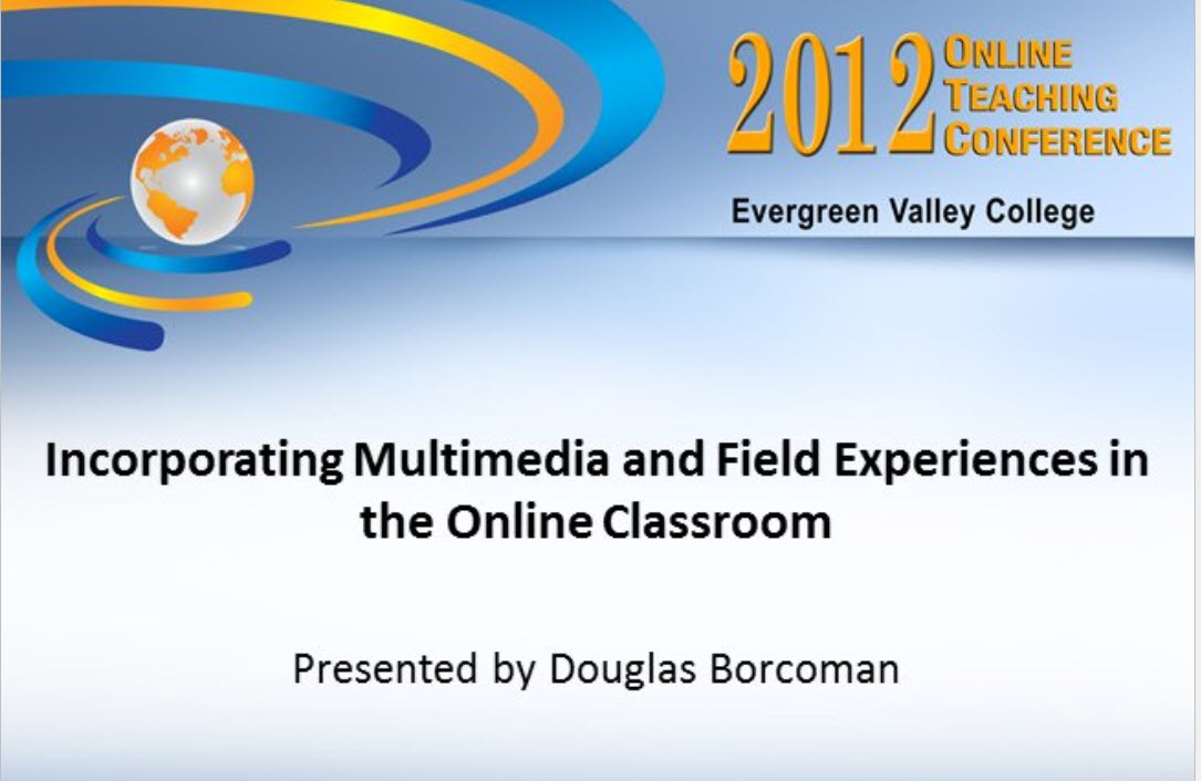 Logo for 2012 Online Teaching Conference